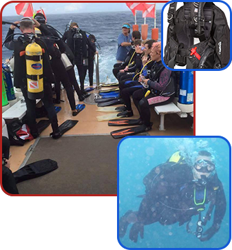 Divers and Equipment